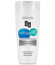 Мицеллярная жидкость для снятия макияжа с глаз и лица Collagen Hial+ AA