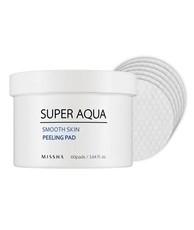 Очищающая маска для лица (на ватном диске) MISSHA Super Aqua Smooth Skin Peeling Pad