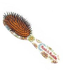 Щетка со смешанной щетиной Цветы и Лица Rock & Ruddle