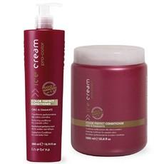 """Кондиционер """"Идеальный цвет"""" для окрашенных волос Inebrya Ice Cream Pro-Color perfect conditioner"""