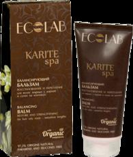 Балансирующий бальзам  для волос «Восстановление и Укрепление» KARITE SPA ECOLAB