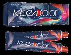 Краска «KERA COLOR» Перманентная  для волос