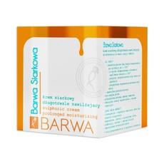 Крем антибактериальный увлажняющий с экстрактом серы Barwa Siarkowa