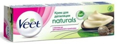 Крем для депиляции с маслом Ши для нормальной и сухой кожи VEET Naturals