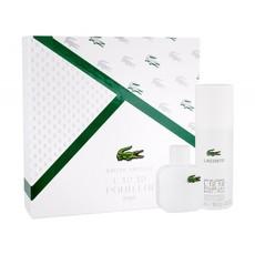 Набор парфюмерно-косметический EAU DE LACOSTE L.12.12. BLANC – PURE POUR HOMME (Туалетная вода 50мл + дезодорант спрей 150мл)