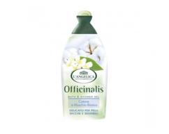 Гель для ванны и душа с экстрактом белого мускуса и хлопка для чувствительной кожи L' Angelica Officinalis