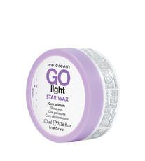 Воск для укладки волос Inebrya Ice cream Go light Star wax