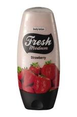 Молочко для тела Strawberry MODUM FRESH
