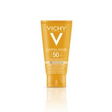 Тональный крем с бархатистой текстурой SPF50+ Capital Soleil VICHY
