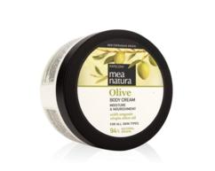 Увлажняющий и питательный крем для тела с оливковым маслом MEA NATURA Olive Farcom