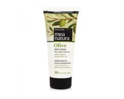 Скраб для тела с оливковым маслом MEA NATURA Olive Farcom