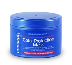 Маска для окрашенных волос Без сульфатов и парабенов! CONCEPT LIVE HAIR