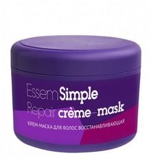 Крем-маска для волос восстанавливающая Essem Simple