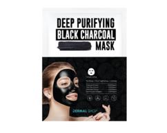 Маска для лица с Древесным углем для глубокого очищения /Deep Purifying Black Charcoal Mask DERMAL SHOP