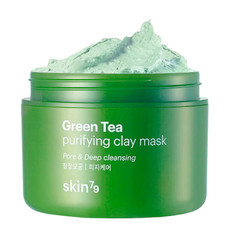 Глиняная маска зеленый чай SKIN79 GREEN TEA PURIFYING CLAY MASK