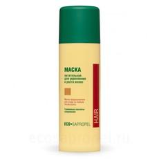 Маска питательная для укрепления и роста волос «Эко-сапропель»