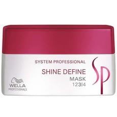 Интенсивная маска для блеска волос Shine Define Line System Professional