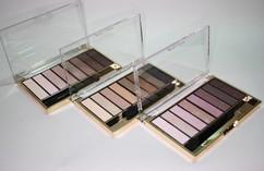 Паллета для макияжа глаз (запечённые тени для век + тени-пудра для бровей) NUDE PALETTE Max Factor