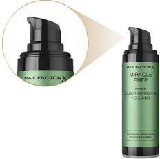 Праймер для лица корректирует покраснения и уменьшает раздражения MIRACLE PREP/Primer Colour-Correcting + Cooling Max Factor