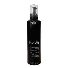 Мусс для укладки волос с кератином и маслом аргана «Fashion» Lisap