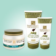 Интенсивный крем на основе оливкового масла и меда «Health&Beauty»