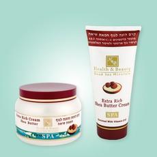 Питательный крем для тела с добавлением масла ши «Health&Beauty»