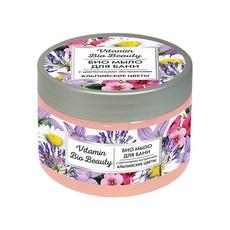 БИО Мыло для бани «Альпийские цветы» Vitamin Bio Beauty