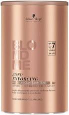 """Премиум Бондинг-порошок """"Глиняный"""" для обесцвечивания волос """"BOND ENFORCING"""" (White dust free powder Premium Clay Lightener 7+) BlondMe Schwarzkopf"""