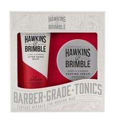Набор для бритья Hawkins & Brimble Grooming Gift Set (Крем для бритья, бальзам после бритья)