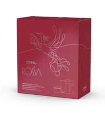 Набор парфюмерных компаньонов ESTEL ROSSA (шампунь, бальзам-маска, масло для душа, крем-суфле для тела)