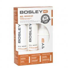 Набор против выпадения и для роста окрашенных редеющих и истонченных волос Bosley MD Revive Color Safe Starter Pack