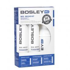 Набор против выпадения и для роста неокрашенных редеющих и истонченных волос Bosley MD Revive Starter Pack For Non Color-Treated Hair