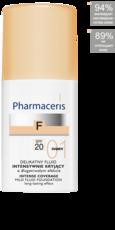 Нежный тональный флюид SPF 20 F Pharmaceris
