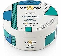 Воск с блеском сильной фиксации Yellow Style