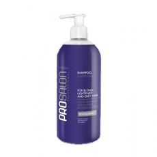 Шампунь для светлых, осветлённых и седых волос Professional Prosalon