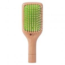 Массажная расческа из натурального бука O'right Paddle Brush — большая