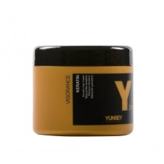 Маска для волос Кератин PROFESSIONAL VIGORANCE 24K Keratin hair mask, 500 мл Yunsey