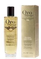 Флюид для волос с аргановым маслом и микрочастицами золота Oro Therapy 24k Oro Puro Fanola