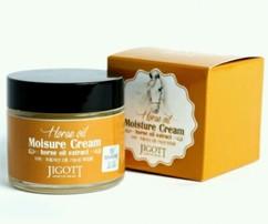 Увлажняющий крем с лошадиным маслом JIGOTT