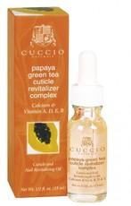 Масло для кутикулы с экстрактом папайи и зеленого чая CUCCIO NATURALE