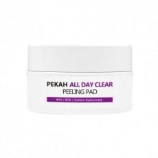 Очищающие и отшелушивающие диски Pekah All Day Clear