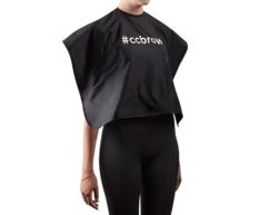 Пеньюар, длина 45 см, черный, нейлон CC Brow