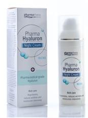 Ночной крем для лица riche PTC Pharma Hyaluron