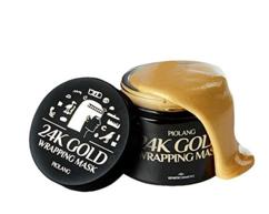 Маска для лица с 24-каратным золотом PIOLANG 24k Gold Wrapping Mask ESTHETIC HOUSE