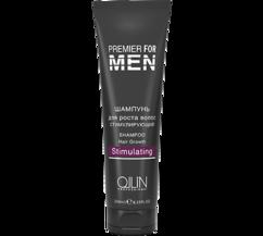 Шампунь для роста волос стимулирующий OLLIN PREMIER FOR MEN