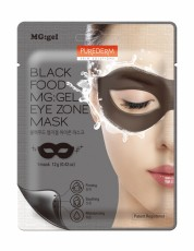 Гидрогелевая маска для области вокруг глаз BLACK FOOD MG:GEL EYE ZONE MASK PUREDERM
