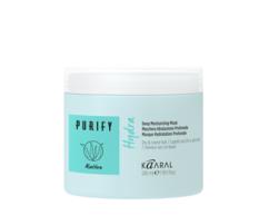 Интенсивная увлажняющая питательная маска для волос сухого типа, а также поврежденными после окрашивания или химической завивки HYDRA DEEP NOURISHING MASK PURIFY Kaaral