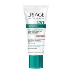 Тональный крем Uriage Hyséac 3-Regul Soin Global Teinté SPF 30 Уход за жирной кожей
