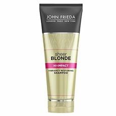 Восстанавливающий шампунь для окрашенных волос Sheer Blonde Flawless Recovery JOHN FRIEDA