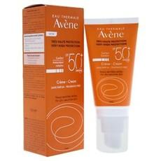 Солнцезащитный крем для чувствительной кожи SPF 50+AVENE